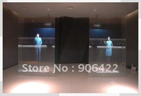 Free shipping for Advertising Projection Transparent Holographic Screens