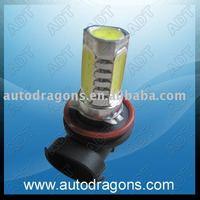 Free shipping!H11 auto fog lamp 4 leds high power fog light,car DRL super brightnessH11HP-4
