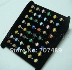 Wholesale retail beautiful rings earrings Display rings Rack Holder earring Show Stand multi function earring decoration box(China (Mainland))