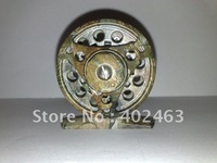 Top grade Camouflagecolor Aluminum Die Casting Fly Fishing Reels # 2/3 60mm One-way bearing China Post Air Mail Ups Saver