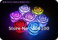LED Rose Flower Light, LED illumination, rose love light, LED Wishing Light, Wholesale, 5pcs/lot