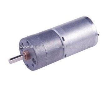 A49A 5pcs/lot 6V 100rpm 25mm Mini DC Gear Motor Micro Motor