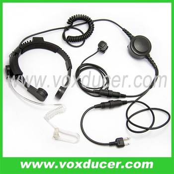 For Icom walkie talkie amateur radio IC-U12 IC-U16 throat microphone