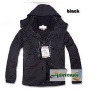 best sell  2012 Men Style Outdoor Waterproof Jacket Color: black8538