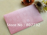 Wedding invitation envelope, 21*12cm, 120g Austria spray-wax pearl paper, free shipping