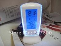 New Arrival Alarm Digital LED Clock Colorful Magic clock set digital LED clock Blu-ray Music Watch