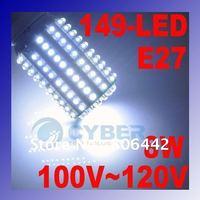 E27 149-LED Corn Light Energy Saving Bulb Lamp Cold White 100~120V 8W Free Shipping