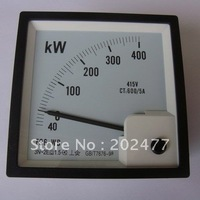 2X F96 High Quality Analog KW Watt Panel Meter 0~400kw
