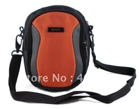 Hot sale lady bag/pouch case/camera/shoulder/messenger sling comestic bags/orange color