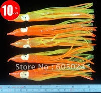 100pcs/lot Soft Fishing Lure Octopus Lure 14cm Soft Fishing Bait