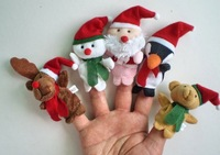 Action & Toy Figures Christmas baby toys Educational toys Santa Claus   FREE SHIPPING, 5Pcs/Lot  T107