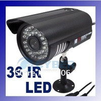 "1/3"" 36 LED Color Night Vision Indoor/Outdoor security CMOS IR CCTV Camera"