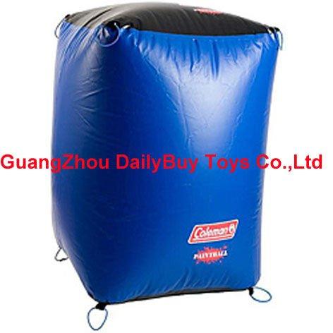 BK01 0.75m*1.25m*1.5m 0.9mm PVC Inflatable paintball bricks bunker field & FREE SHIPPING 100% positive feedback(China (Mainland))