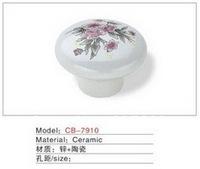 Best selling Ceramic Zinc Alloy Kitchen Cabinet Furniture Handle CB7910