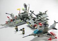 free shipping Puzzle blocks, fight cartridge, ships+ tanks+aircraft=105usd , models, plastic 1pcs