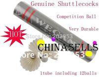 in stock Genuine Silver Wecan badminton shuttlecock 12balls