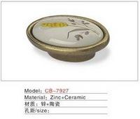 Best selling Ceramic Zinc Alloy Kitchen Cabinet Furniture Handle CB7927
