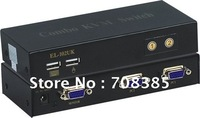 **factory direct sale** powerful 2 port combo kvm switch