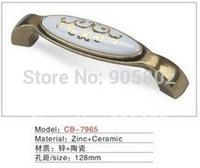 Best selling Ceramic Zinc Alloy Kitchen Cabinet Furniture Handle CB7965