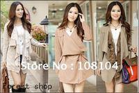 New Womens Casual / slim Lace / Ladies coat / long jacket(ww1653)