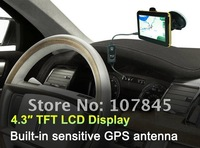 NEW!HK free shipping!OrangeTPMS+4.3inchGPS(without map) Perfectly Integrating ! FreeGift PAYPAL is OK(NC-045GM)