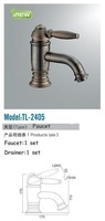 New Style Simplicity Antiqued Brass Single Handle Basin Faucet Tap TL-2405