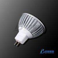 FREE SHIPPING  HOT LED BULBS 10pcs/lot+ super bright MR16 3X1W warm white light bulb