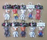 Cute 3 Inches momo bear / DIY Ferrite Meme Bear / Vinyl  mold / DIY platform promotion gift  toy