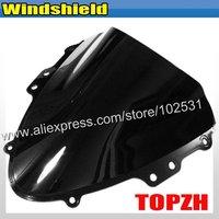 Free Shipping Black Motorcycle Windshield WindScreen Suzuki GSXR 600 750 K4 04-05 Y366