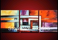 Free shipping handmade oil painting canvas art abstract  home decoration new arrival P13 HOT