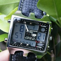 Digital Analog Dual Dispaly DAY/DATE Sport Wrist Watch A165