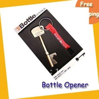 Wholesale Free shipping Bottle Opener--20pcs/lot  fashion Bottle Opener Key Ring Keychain Bar Beer Tools bottle opener