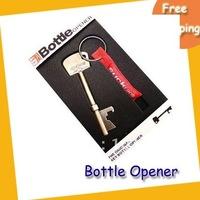 Wholesale Free shipping Bottle Opener--20pcs/lot  fashion Bottle Opener Key Ring Keychain Bar Beer Tools bottle opener