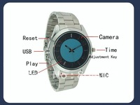 watch camera DVR Watch hidden watch mini dv 8GB watch cameras 30fps