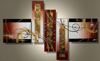 Free shipping MODERN ABSTRACT CANVAS ART OIL PAINTING Guaranteed decoration oil painting elegance Modern Wall Art 5 panels a111
