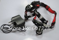 18650 Headlamp ZT-6521 CREE Q5 5W 300Lm  LED HeadLight 3 Mode Waterproof Headlamp ZOOMABLE Hiking Headlight