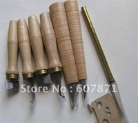 Knives Violin Maker Tools GoldSteel Hardwood handle #T2