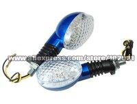 New HOT Sale 2 Pcs Motorcycle 18x LED Turn Signals Indicators Amber TA057