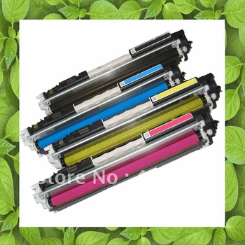Compatible CE310A, 10A, CE311A, 11A, CE312A, 12A, CE313A, 13A Color Toner Cartridge for CP1025, CP1025nw, MFP M175