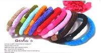 Wholesale (40pcs ONLY 2.8$) FREE SHIPPING ALL COUNTRY ! High quality Hair rope/sample Hair rings