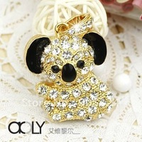 Cute Bear Shape 2GB,4GB,8GB,16GB Diamond USB Flash Memory drive storage stick Gift usb 2.0,MOQ:1pcs+free shipping