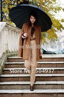 Free shipping-New Fashion Gossip Girl Celebrity Cape Dress/ Women's Wool Coat/Lady Poncho Sleeveless Outwear  0010