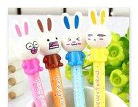 Lovely cartoon ballpoint pen ball pen New type cute  Cartoon rabbit Doll ball pen/Fashion Style Ball Pen