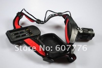 LED Headlamp 5W 300Lm CREE Q3 LED Headlight 3 Mode 3* AAA Zoomable Zoom Headlamp Waterproof Out Hiking Head light