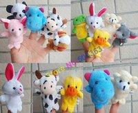 30pcs Wholesale Animal Finger Puppet,Finger toy,finger doll,baby dolls,Baby Toys,Animal doll