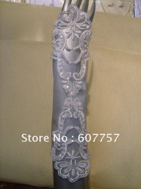 Free shipping Buy wedding dress send wedding accessories-gloves(China (Mainland))