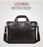 Free shipping.genuine leather handbag.portfolio.man business cases.bag.great deal.laptop