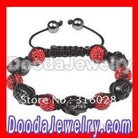 Free Shipping(1Piece) NEW Skull Head Beads Fashion Bracelet Wholesale/Retail