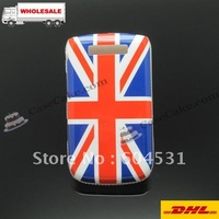 Back case with UK flag For BlackBerry 9800 DHL Free Shipping Wholesale