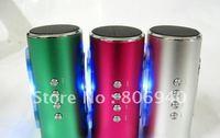 Mini Speaker,portable speaker,TF card speaker,support FM+U-disk+TF card  HiFI stereo and SD &USB Slot Free shipping